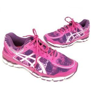 Asics Gel Kayano 22 Running Shoes Pink 9.5 M